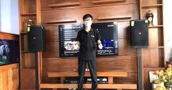 Dàn karaoke gia đình anh Hoàng ở Long Thành, Đồng Nai (Domus 6120, SAE TX650Q, DP9200+, BCE UGX12)
