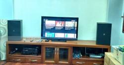 Dàn karaoke gia đình anh Hưng ở Bình Thạnh (JBL KP4012, BIK VM620A, BPR-8500, BCE UGX12 Plus)