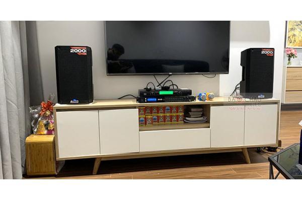 Dàn karaoke gia đình anh Lâm ở Vinhome Gardenia (Alto TS308, FX-9MK, BCE U900 PlusX)