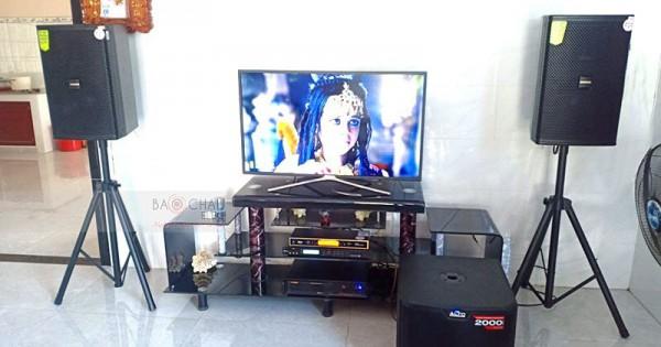 Dàn karaoke gia đình anh Quy ở Tây Ninh (Domus DP6120, Alto TS312, BIK VM620A, X5 Plus, UGX12 Gold)