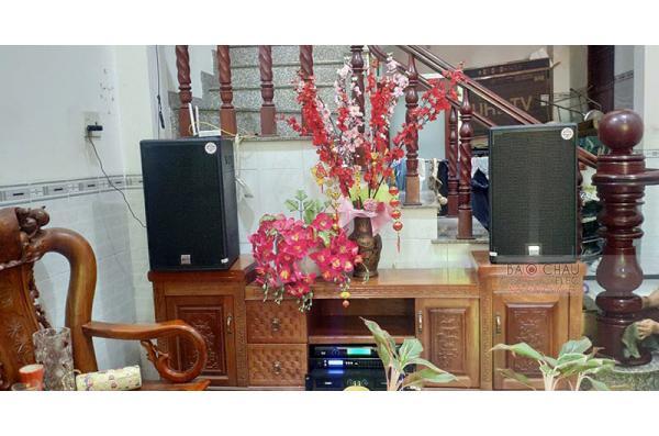 Dàn karaoke gia đình anh Tiến ở Bình Dương (Alto AT2000, SAE CT12000X, FX-9MK, U900 PlusX)