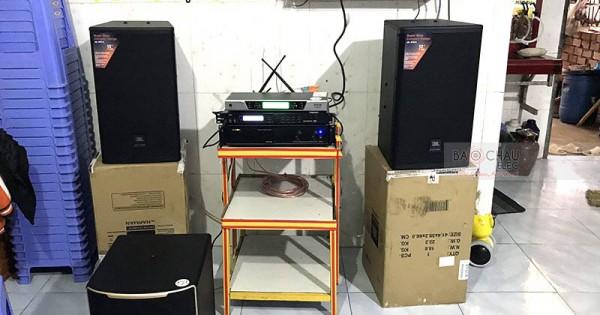Dàn karaoke gia đình chị Duyên ở Trảng Bom (JBL MTS12, Pasion 12SP, BIK VM620A, X5 Plus, UGX12)