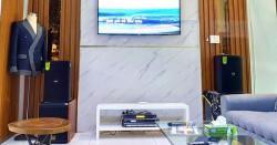 Dàn karaoke gia đình chị Phương ở quận 3, HCM (Domus DP6100, Bksound DP3500, BW 12Q, UGX12 Plus)