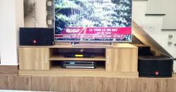 Dàn karaoke JBL gia đình anh Hoàng ở Bình Thạnh (JBL CV1252T, Bksound DP-3500, UGX12 Plus Luxury)