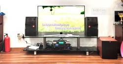 Dàn karaoke JBL gia đình anh Hoàng ở Gò Vấp (JBL CV1052T, Jamo J12, VM620A, BPR 8500, BCE UGX12)