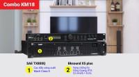 Combo KM18 (SAE TX800Q + Bksound X5 plus)