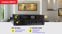 Combo đẩy vang KM19 (BIK VM 840A + BIK BPC-R300+)