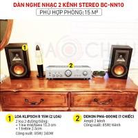 Dàn nghe nhạc 2 kênh Stereo BC-NN10