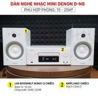 Dàn nghe nhạc mini Denon D-N8