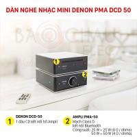 Dàn nghe nhạc mini Denon PMA DCD 50