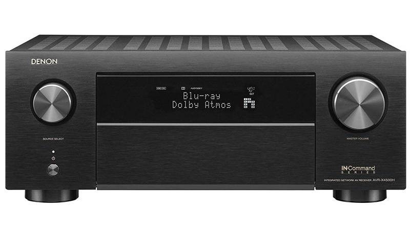 Amply Denon AVR-X4500H mặt trước