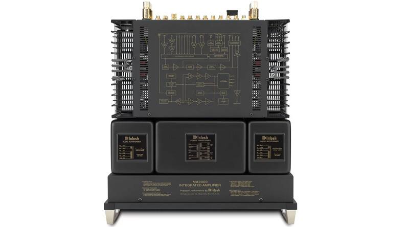 Amply McIntosh MA9000 mặt trên
