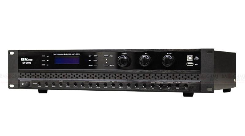 Cục đẩy liền vang BKsound DP3600 nghiêng phải