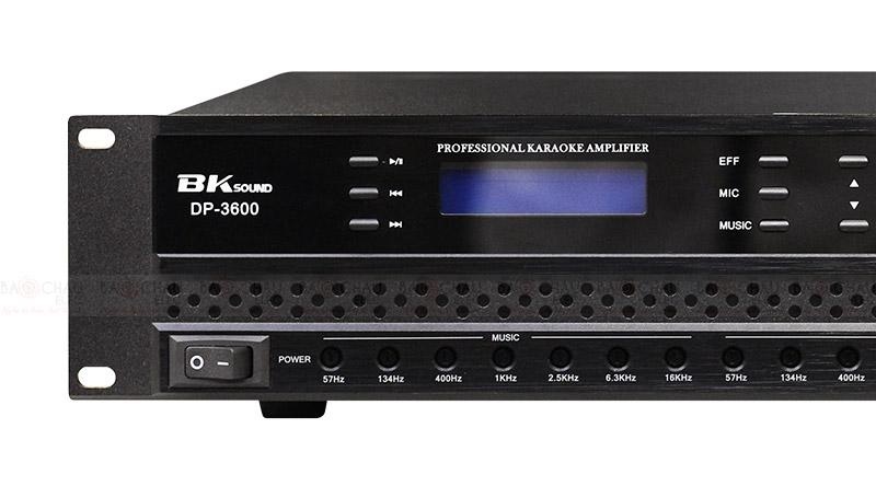 Cục đẩy liền vang BKsound DP3600 mặt trước 1