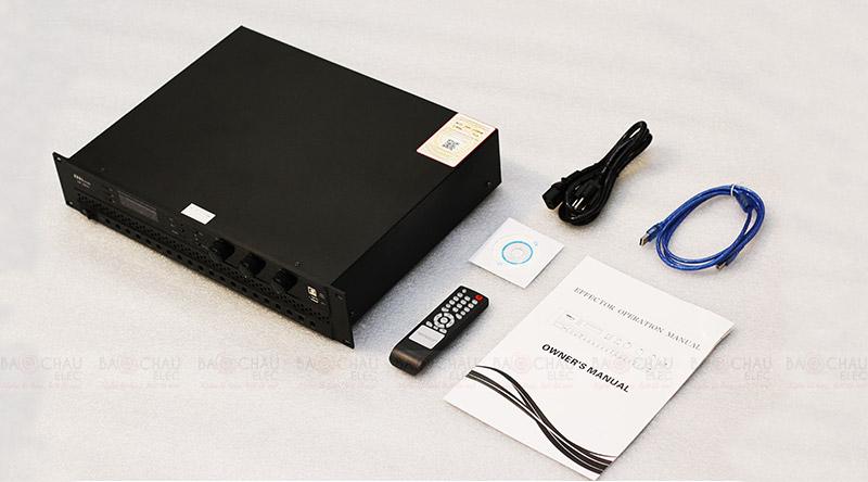 Cục đẩy liền vang BKsound DP3600 tổng thể bộ sản phẩm