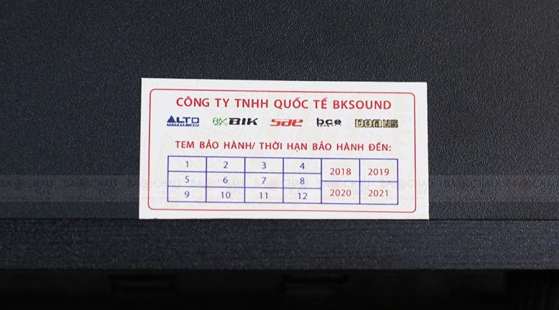 Cục đẩy liền vang BKsound DP3600 tem bảo hành