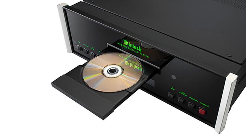 Đầu SACD/CD McIntosh MCD350 ổ đĩa