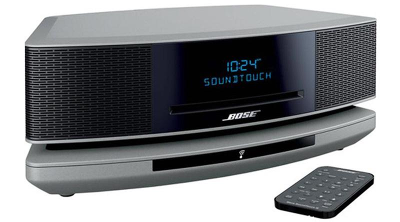 Loa nghe nhạc Bose Wave SoundTouch IV (Bạc) nghiêng phải