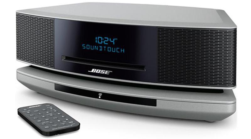 Loa nghe nhạc Bose Wave SoundTouch IV (Bạc) nghiêng trái