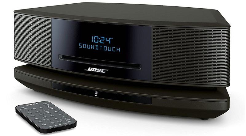 Loa nghe nhạc Bose Wave SoundTouch IV (Đen) nghiêng trái