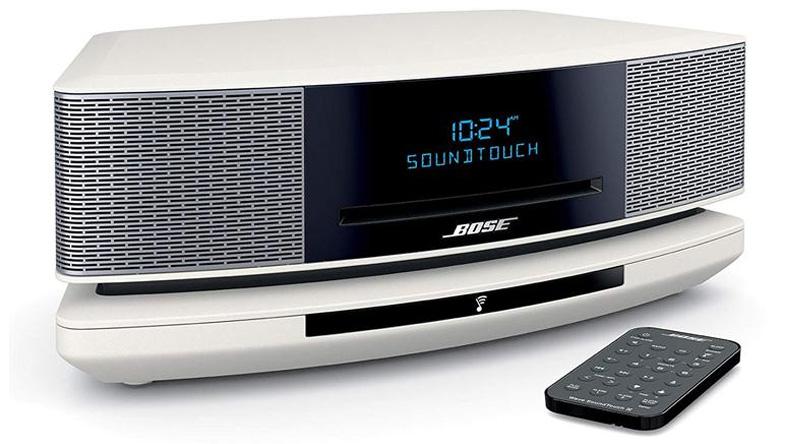 Loa nghe nhạc Bose Wave SoundTouch IV (Trắng) nghiêng phải