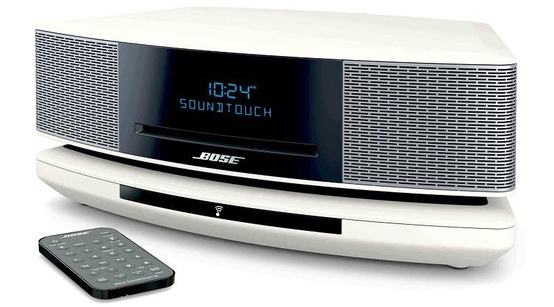 Loa nghe nhạc Bose Wave SoundTouch IV (Trắng) nghiêng trái