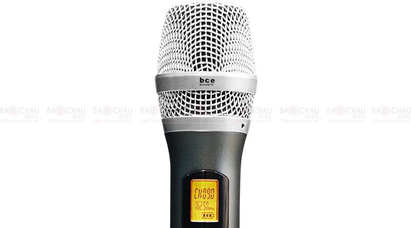 Micro không dây BCE UGX12 Plus tay micro 4