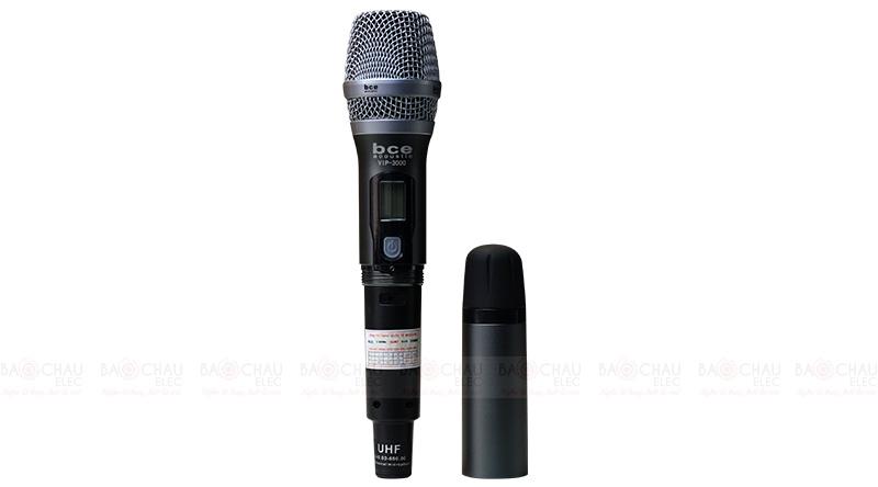 Micro không dây BCE Vip 3000 tay mic 3