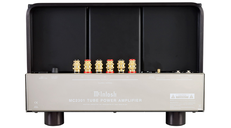 Power Amply đèn McIntosh MC2301 mặt sau