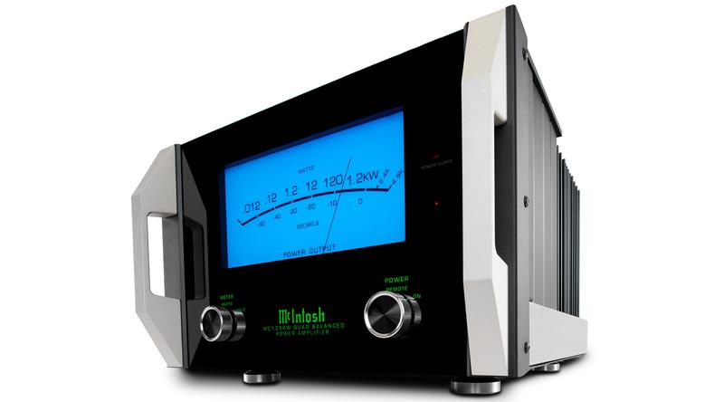 Power Amply McIntosh MC1.25KW nghiêng trái
