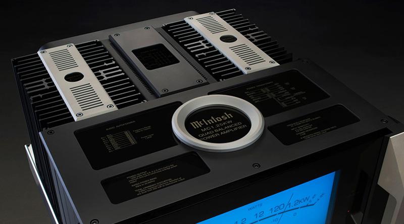 Power Amply McIntosh MC1.25KW mặt trên