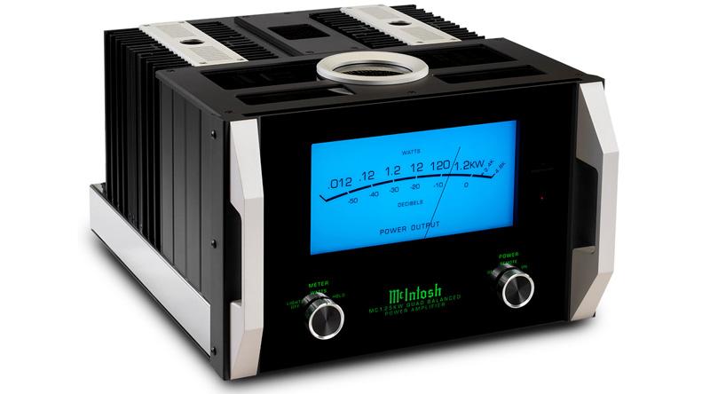 Power Amply McIntosh MC1.25KW nghiêng phải