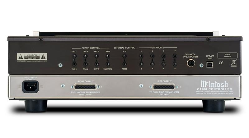 Bộ điều khiển bán dẫn C1100C mặt sau