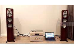 Bộ dàn nghe nhạc gia đình anh Ân ở Quận 2, HCM (Silver 300, PMA-2500NE, DCD-1600NE)