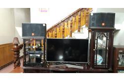 Dàn karaoke gia đình anh Đức ở Đông Sơn, Thanh Hóa (JBL CV1252T, Jamo J12, BIK VM620A, DSP-9000)