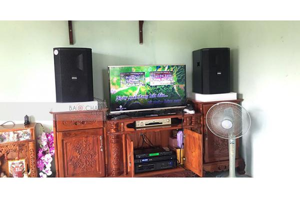 Dàn karaoke gia đình anh Mạnh ở Biên Hòa (BIK BSP412, BIK VM620A, FX-9MK)