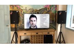 Dàn karaoke gia đình anh Thành ở Hội An (JBL MTS12, JBL A120P, BIK VM620A, JBL KX180, JBL VM300)