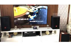 Dàn karaoke gia đình anh Tuấn ở Vinhome Thăng Long (JBL CV1070, Jamo J12, BIK VM620A, X5 Plus, BCE UGX12)