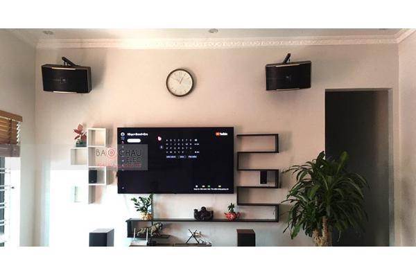 Dàn karaoke gia đình chị Yến ở Ân Thi, Hưng Yên (Pasion 10, JBL A120P, BIK VM620A, DK 6000 Pro, UGX12 Gold)