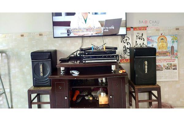 Dàn karaoke gia đình chú Hon ở Tân Phú, HCM (BIK BJ-S886, BKsound DP3500, U900 Plus X)