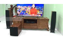 Dàn nghe nhạc cao cấp cho gia đình anh Tâm ở Tiền Giang (Jamo C97II, Jamo J12, PMA 1600NE)