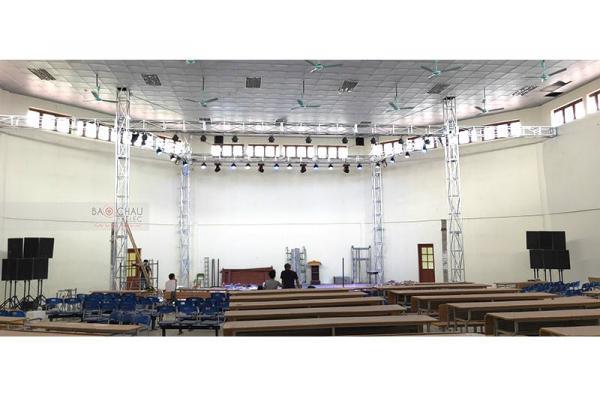 Lắp bộ dàn hội trường cho nhà hát chèo tỉnh Thái Bình (BLS15+, BLS 12M, Lexpro PXM7, PQM13, SAE PQM13 Signature, KX180, VIP6000)