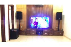 Lắp đặt dàn karaoke gia đình cô Điệp ở Vũng Tàu (JBL PRX 415M, TS308, Xli2500, JBL KX180, UGX12 Plus)