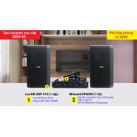 Dàn karaoke cao cấp 2020-02 ( BIK BSP 410, BKSound DP6000)