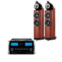 Dàn nghe nhạc Hi-End 03 (B&W 803 D3 Rosenut + McIntosh MA9000)