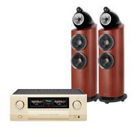Dàn nghe nhạc Hi-End 05 (B&W 803 D3 Rosenut + Accuphase E-480)