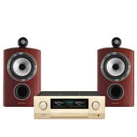 Dàn nghe nhạc Hi-End 17 (B&W 805 D3 Rosenut + Accuphase E-370)