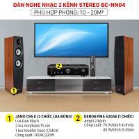 Dàn nghe nhạc 2 kênh Stereo BC-NN04