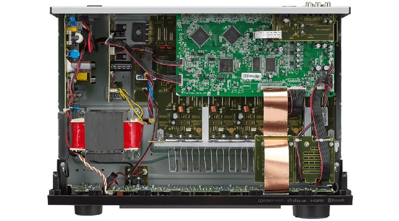 Amply Denon AVR-X250BT linh kiện
