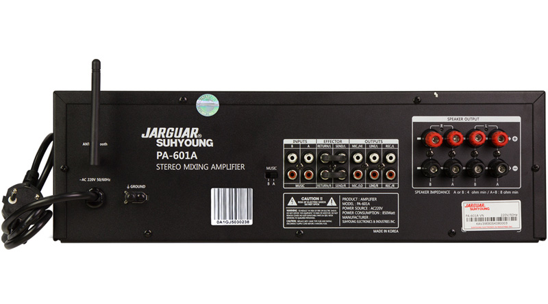 Amply Jarguar Suhyoung PA-602A
